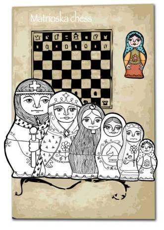 """DISEÑO DE JUEGOS DE MESA: """"Matrioska Chess"""""""